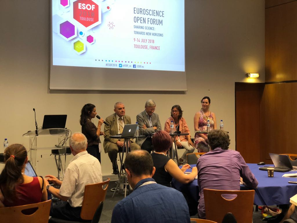 """""""Lost generation of scientists"""" ESOF2018 session"""
